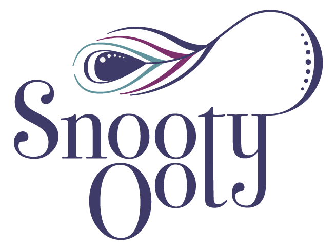 Snooty Ooty logo in stacked format