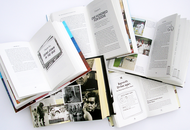 A Selections of text page, including plate sections, chapter opening spreads.