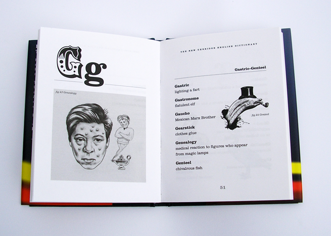 Another chapter start followed by a text page. 'Genealogy' and 'Genteel' illustrated