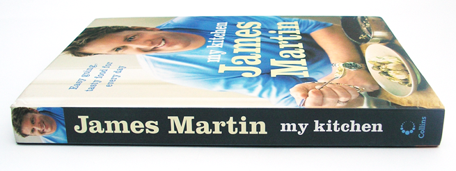 James Martin: my kitchen. Cover designed by HarperCollins Publishers